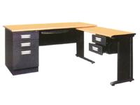 HDZ-07 办公桌带附桌