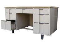 HDZ-19 双柜办公桌(配撑脚)