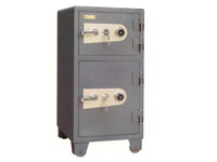 HDB-100J1S 机械双门保管箱