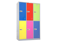 HDL-12C 6-color Locker