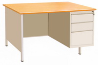 HDZ-01D Single-Cabinet Office Desk